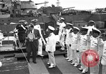 Image of USS Philadelphia transferred to Brazil Philadelphia Pennsylvania USA, 1951, second 5 stock footage video 65675044013