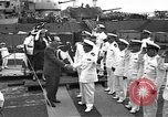 Image of USS Philadelphia transferred to Brazil Philadelphia Pennsylvania USA, 1951, second 10 stock footage video 65675044013