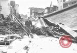 Image of damaged building Anchorage Alaska USA, 1964, second 4 stock footage video 65675044024
