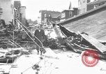 Image of damaged building Anchorage Alaska USA, 1964, second 5 stock footage video 65675044024