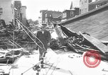 Image of damaged building Anchorage Alaska USA, 1964, second 7 stock footage video 65675044024