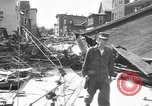 Image of damaged building Anchorage Alaska USA, 1964, second 9 stock footage video 65675044024