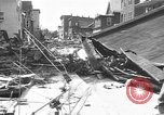 Image of damaged building Anchorage Alaska USA, 1964, second 11 stock footage video 65675044024