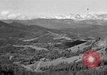 Image of coal mining site Alberta British Columbia Canada, 1940, second 1 stock footage video 65675044027