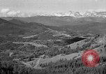 Image of coal mining site Alberta British Columbia Canada, 1940, second 2 stock footage video 65675044027