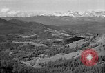 Image of coal mining site Alberta British Columbia Canada, 1940, second 4 stock footage video 65675044027