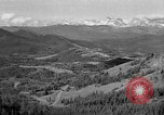 Image of coal mining site Alberta British Columbia Canada, 1940, second 5 stock footage video 65675044027