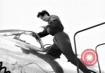 Image of Jacqueline Auriol France, 1955, second 6 stock footage video 65675044035