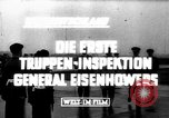Image of General Eisenhower West Germany, 1953, second 4 stock footage video 65675044036