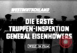 Image of General Eisenhower West Germany, 1953, second 7 stock footage video 65675044036