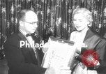 Image of Clare Booth Luce Philadelphia Pennsylvania USA, 1955, second 2 stock footage video 65675044046