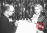Image of Clare Booth Luce Philadelphia Pennsylvania USA, 1955, second 3 stock footage video 65675044046