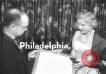 Image of Clare Booth Luce Philadelphia Pennsylvania USA, 1955, second 4 stock footage video 65675044046