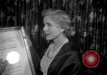 Image of Clare Booth Luce Philadelphia Pennsylvania USA, 1955, second 8 stock footage video 65675044046