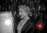 Image of Clare Booth Luce Philadelphia Pennsylvania USA, 1955, second 9 stock footage video 65675044046