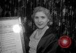 Image of Clare Booth Luce Philadelphia Pennsylvania USA, 1955, second 10 stock footage video 65675044046
