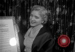 Image of Clare Booth Luce Philadelphia Pennsylvania USA, 1955, second 12 stock footage video 65675044046