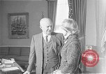 Image of President Dwight D Eisenhower Washington DC USA, 1955, second 1 stock footage video 65675044047
