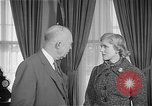 Image of President Dwight D Eisenhower Washington DC USA, 1955, second 5 stock footage video 65675044047