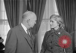 Image of President Dwight D Eisenhower Washington DC USA, 1955, second 6 stock footage video 65675044047