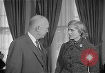 Image of President Dwight D Eisenhower Washington DC USA, 1955, second 7 stock footage video 65675044047