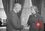 Image of President Dwight D Eisenhower Washington DC USA, 1955, second 11 stock footage video 65675044047