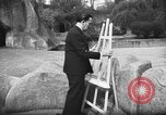 Image of Salvador Dali Paris France, 1955, second 9 stock footage video 65675044048