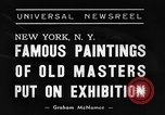 Image of Italian art display New York United States USA, 1940, second 7 stock footage video 65675044061