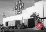Image of Lumber Plant Bridgeport Connecticut USA, 1945, second 2 stock footage video 65675044071