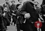 Image of Vietnamese children run to see event Vietnam, 1954, second 10 stock footage video 65675044095