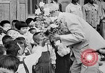 Image of Ho Chi Minh speaking in various venues Vietnam, 1960, second 4 stock footage video 65675044106
