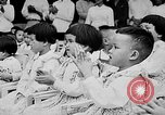 Image of Ho Chi Minh speaking in various venues Vietnam, 1960, second 6 stock footage video 65675044106
