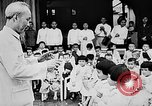 Image of Ho Chi Minh speaking in various venues Vietnam, 1960, second 8 stock footage video 65675044106