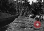 Image of O'Shaughnessy Dam California USA, 1934, second 10 stock footage video 65675044119