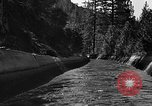 Image of O'Shaughnessy Dam California USA, 1934, second 12 stock footage video 65675044119