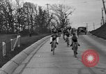 Image of Bicycle race United States USA, 1934, second 11 stock footage video 65675044120