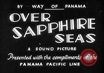 Image of Panama Pacific Liner New York United States USA, 1931, second 1 stock footage video 65675044121