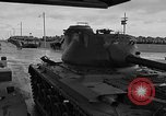 Image of United States M47 Patton tanks Schenectady New York USA, 1952, second 3 stock footage video 65675044122