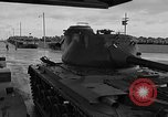 Image of United States M47 Patton tanks Schenectady New York USA, 1952, second 6 stock footage video 65675044122