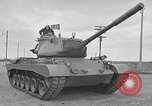 Image of United States M47 Patton tanks Schenectady New York USA, 1952, second 2 stock footage video 65675044124