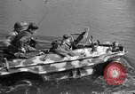 Image of Battle of Tangermunde Germany, 1945, second 11 stock footage video 65675044138