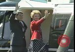 Image of President Ronald Regan Paris France, 1982, second 2 stock footage video 65675044143