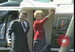 Image of President Ronald Regan Paris France, 1982, second 4 stock footage video 65675044143