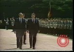Image of President Ronald Regan Bonn Germany, 1982, second 10 stock footage video 65675044146