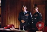 Image of NORAD Commander General Lawrence S. Kuter United States USA, 1962, second 5 stock footage video 65675044158