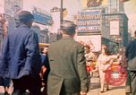 Image of People entering a subway in New York New York City United States USA, 1958, second 6 stock footage video 65675044162