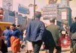 Image of People entering a subway in New York New York City United States USA, 1958, second 7 stock footage video 65675044162