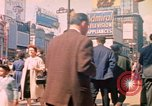 Image of People entering a subway in New York New York City United States USA, 1958, second 8 stock footage video 65675044162