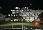Image of President Ronald Reagan Washington DC USA, 1983, second 6 stock footage video 65675044180