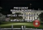 Image of President Ronald Reagan Washington DC USA, 1983, second 7 stock footage video 65675044180